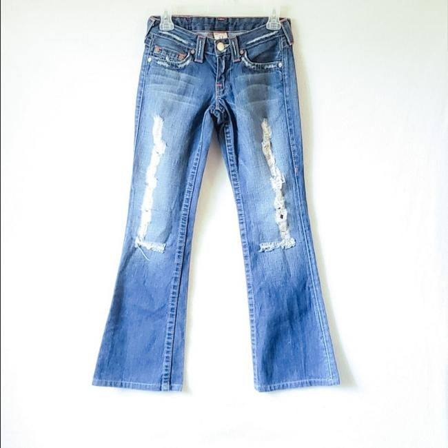 Preload https://item5.tradesy.com/images/true-religion-blue-distressed-bobby-boot-cut-jeans-size-26-2-xs-25855159-0-1.jpg?width=400&height=650
