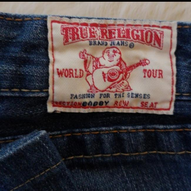True Religion Boot Cut Jeans-Distressed Image 5