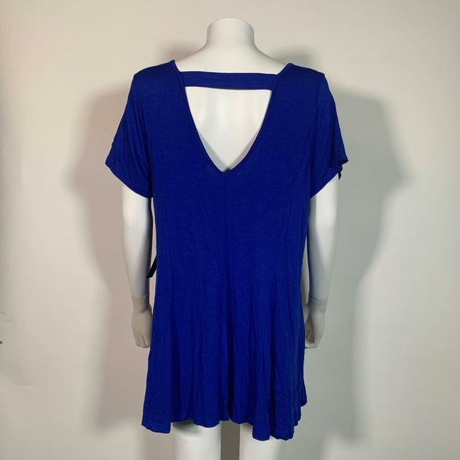 Celebrity Pink Rayon Top Blue Image 1