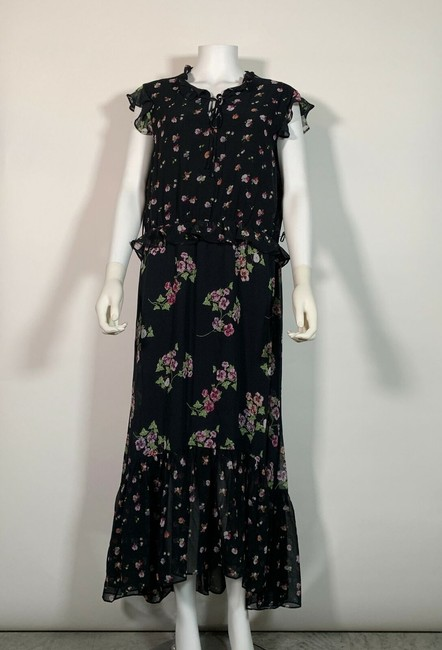Multicolor Maxi Dress by Taylor Polyester Image 3