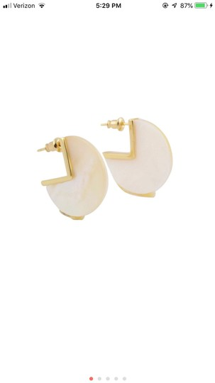 Unknown Rose Quartz Gold Plated Earrings Image 3
