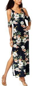 Multicolor Maxi Dress by Rachel Roy Polyester