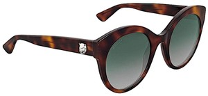 Gucci Brown with Tag Cateye Gg0028s 002 Havana 0028 Sunglasses