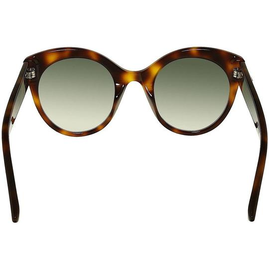 Gucci Brown with Tag Cateye Gg0028s 002 Havana 0028 Sunglasses Image 2