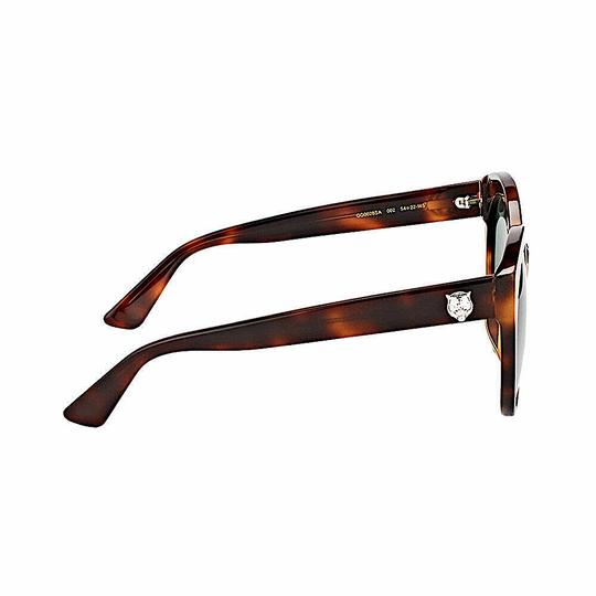 Gucci Brown with Tag Cateye Gg0028s 002 Havana 0028 Sunglasses Image 5
