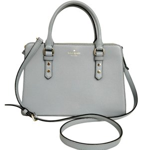 Kate Spade Lise Mulberry Street Convertible Lakesedge Color Leather Cross Body Bag