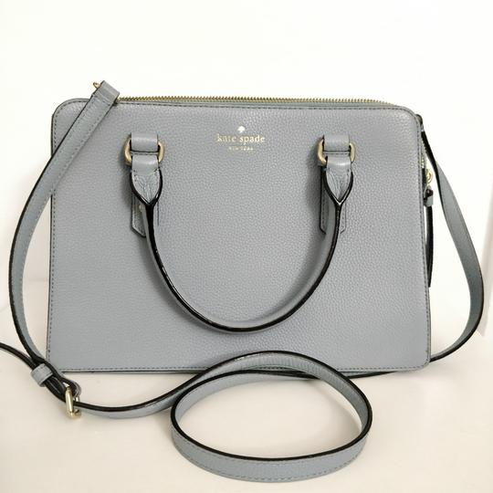 Kate Spade Lise Mulberry Street Convertible Lakesedge Color Leather Cross Body Bag Image 1