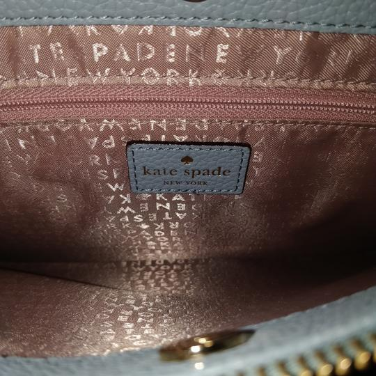 Kate Spade Lise Mulberry Street Convertible Lakesedge Color Leather Cross Body Bag Image 3
