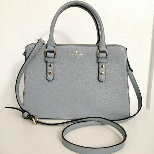 Kate Spade Lise Mulberry Street Convertible Lakesedge Color Leather Cross Body Bag Image 4