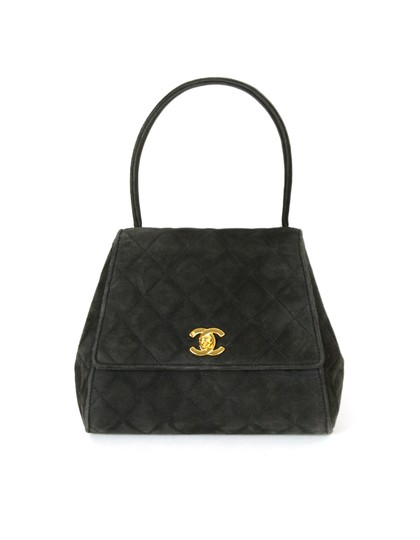 Preload https://img-static.tradesy.com/item/25855339/chanel-top-handle-bag-vintage-quilted-kelly-style-grey-suede-leather-tote-0-0-540-540.jpg