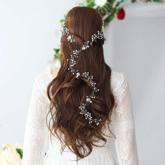 White Hair Accessory Image 1
