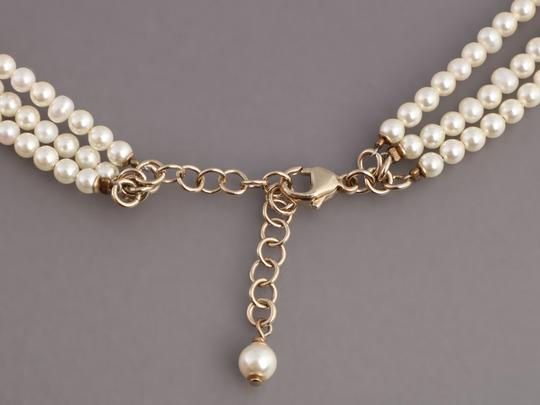 Chanel PEARL AND CRYSTAL LOGO CHOKER Image 3