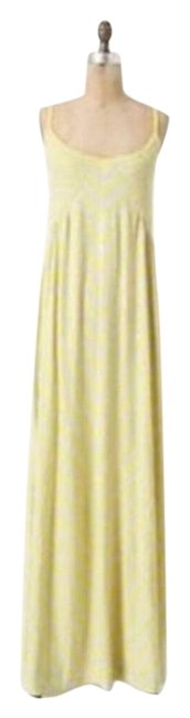 Preload https://img-static.tradesy.com/item/25855420/anthropologie-yellow-and-gray-smocked-chemise-long-casual-maxi-dress-size-8-m-0-1-650-650.jpg