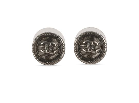 Preload https://img-static.tradesy.com/item/25855434/chanel-silver-round-textured-cc-earrings-0-1-540-540.jpg
