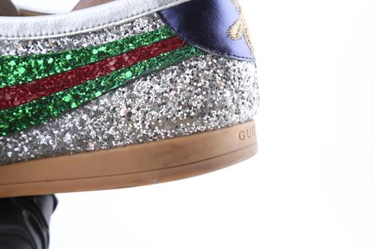 Gucci Multicolor Glitter Web Falacer Sneakers Shoes Image 7