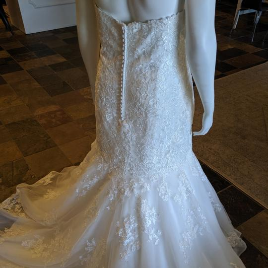 Maggie Sottero Ivory/ Ivory Tulle Horsehair Aretha Formal Wedding Dress Size 24 (Plus 2x) Image 1