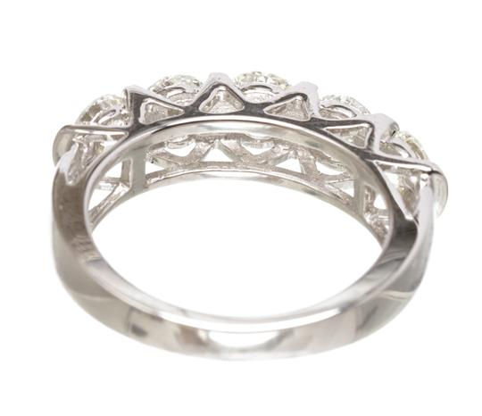Diamond Daimond Ring Image 7