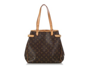 Louis Vuitton Lv.q0619.16 Leather Belted Gold Hardware Reduced Price Tote in Brown