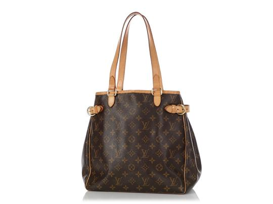 Louis Vuitton Lv.q0619.16 Leather Belted Gold Hardware Reduced Price Tote in Brown Image 1
