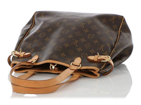 Louis Vuitton Lv.q0619.16 Leather Belted Gold Hardware Reduced Price Tote in Brown Image 6