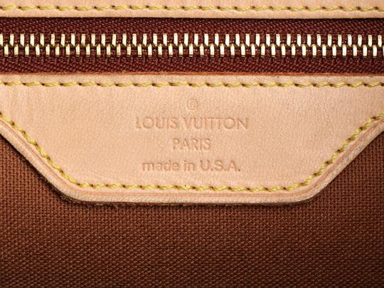 Louis Vuitton Lv.q0619.16 Leather Belted Gold Hardware Reduced Price Tote in Brown Image 9