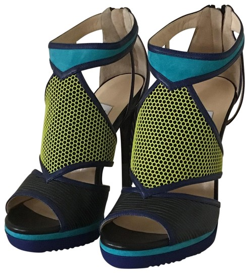 Preload https://img-static.tradesy.com/item/25855504/jimmy-choo-blackacid-yellowturquoise-serial-number-543519-095-sandals-size-eu-37-approx-us-7-regular-0-1-540-540.jpg