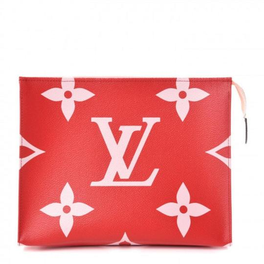 Preload https://img-static.tradesy.com/item/25855507/louis-vuitton-redpink-toiletry-pouch-xl-giant-monogram-26-limited-edition-cosmetic-bag-0-0-540-540.jpg