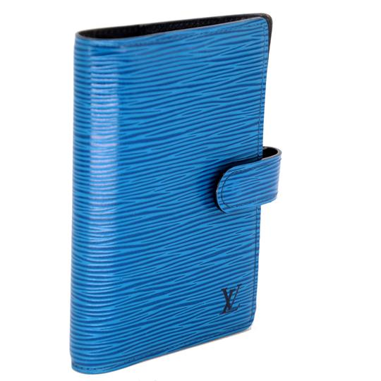 Louis Vuitton Epi Leather Mini Small Ring Agenda Planner Notebook Image 1