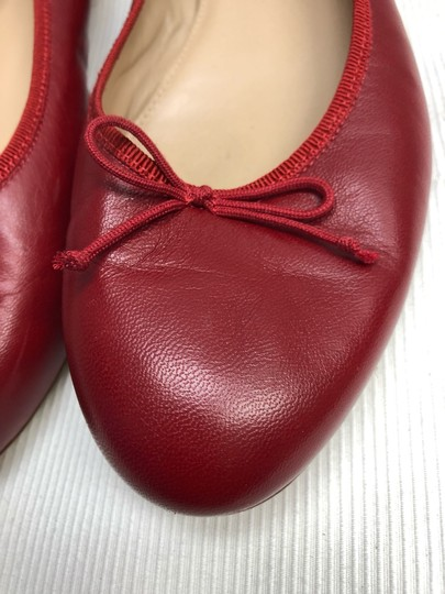 J.Crew Red Flats Image 1
