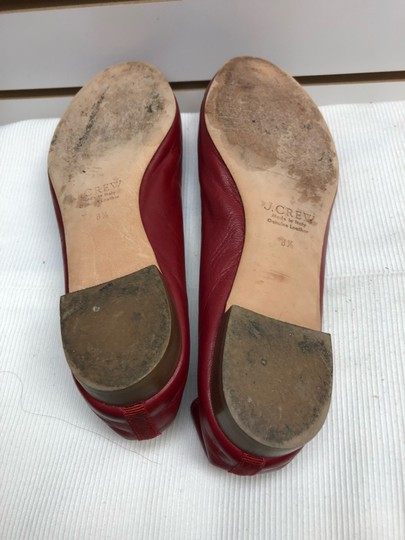 J.Crew Red Flats Image 4