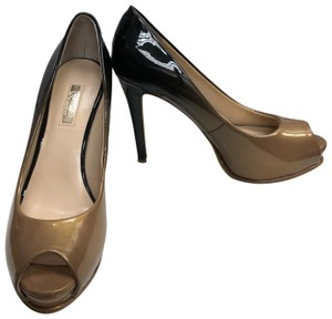 Guess Pump Black/Brown Platforms