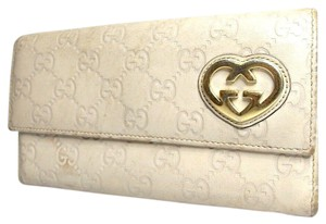 Gucci Auth Gucci Guccissima Leather Long Wallet #287G1022