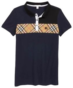 c50803ad Ann Taylor Navy Burberry Jeff Polo For (Kids) Boys 16 Years Tee Shirt Size  OS (one size)