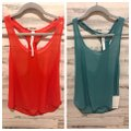Lululemon Top blue and orange/red
