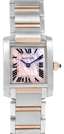 Preload https://img-static.tradesy.com/item/25856564/cartier-pink-francaise-steel-rose-gold-mother-of-pearl-w51027q4-watch-0-1-540-540.jpg