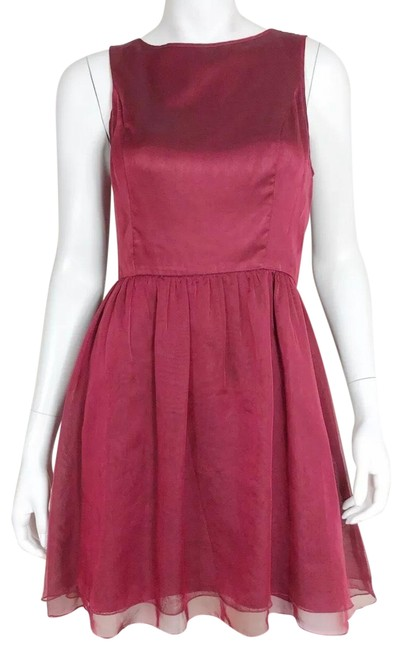 Preload https://img-static.tradesy.com/item/25856723/kensie-red-later-mid-length-cocktail-dress-size-8-m-0-1-650-650.jpg