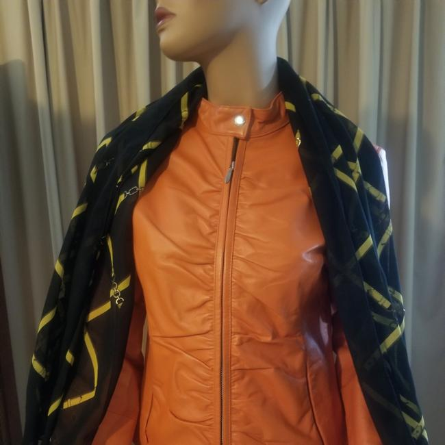 Wilsons Leather Beautiful light euro coral Leather Jacket Image 1