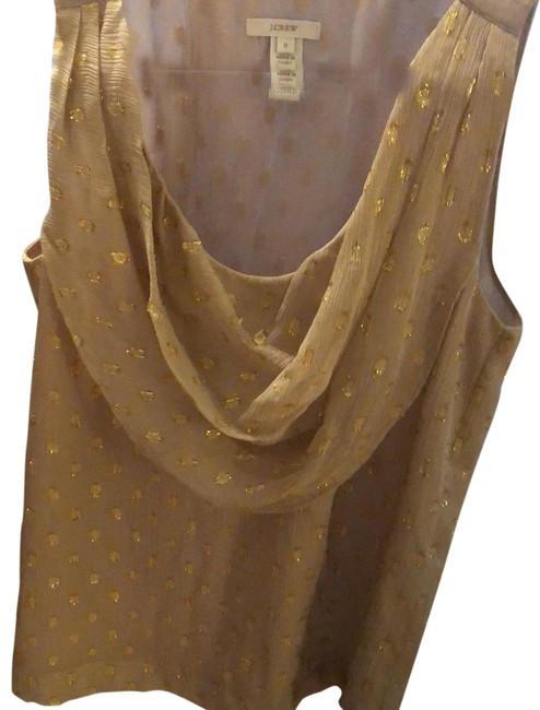 Item - Gold with Gold Sparkle Top