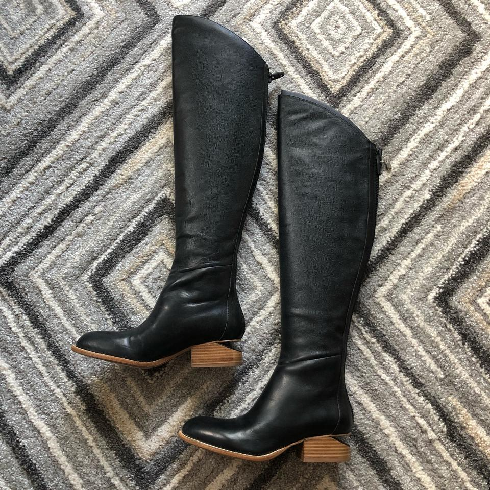 Alexander Wang Black Sigrid Heel Tall Cutaway Heel Boots/Booties Size EU  35 5 (Approx  US 5 5) Regular (M, B) 56% off retail
