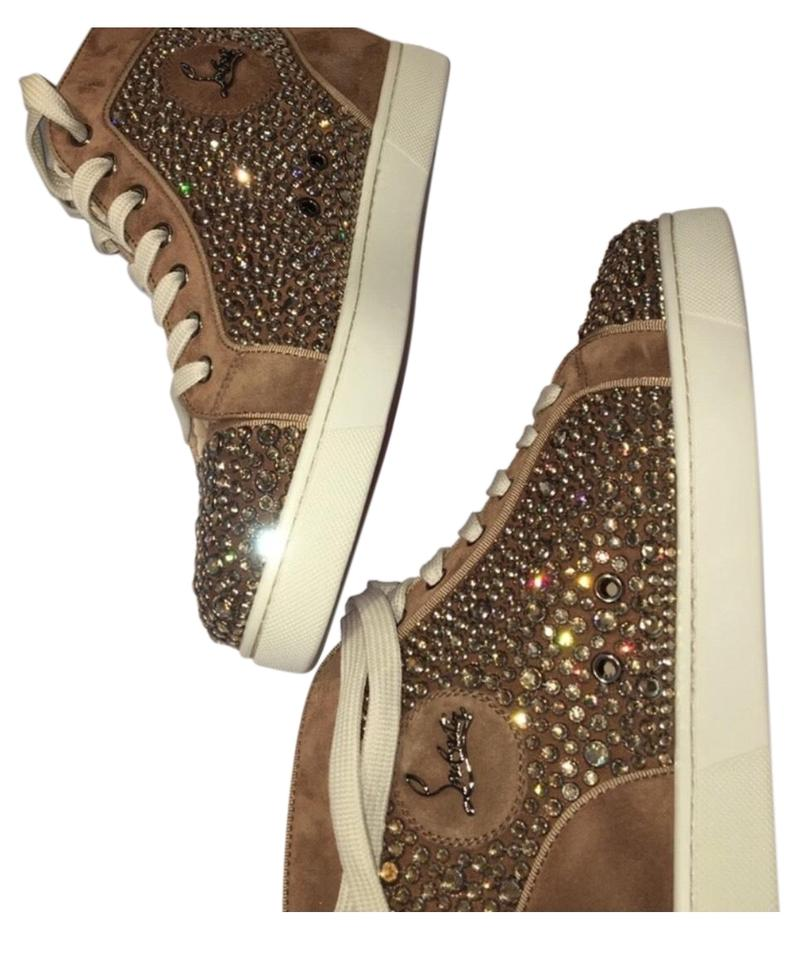 new concept cf1e2 d3dfe Christian Louboutin Beige Louis Orlato Flat Sneakers Size EU 39 (Approx. US  9) Regular (M, B) 77% off retail