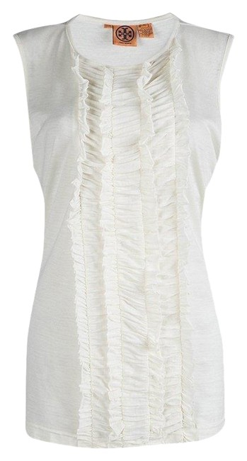 Preload https://img-static.tradesy.com/item/25857103/tory-burch-white-xl-off-ruffle-front-detail-sleeveless-blouse-size-16-xl-plus-0x-0-1-650-650.jpg