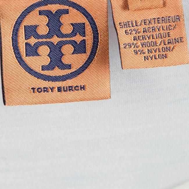 Tory Burch Ruffle Acrylic Nylon Wool Top White Image 4