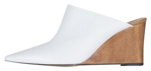 The Row white Mules