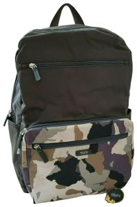 Tumi Multi Nylon Camouflage Just In Case Backpack