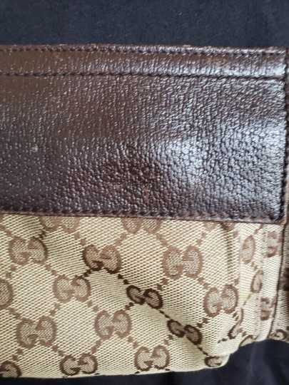 Gucci Beige brown GG web canvas Gucci belt bag Image 3