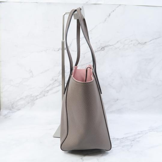 Gucci Swing Small Calfskin Tote in Taupe Image 6