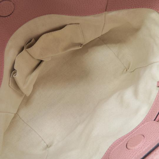 Gucci Swing Small Calfskin Tote in Taupe Image 9