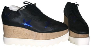 Stella McCartney Black & Blue Platforms