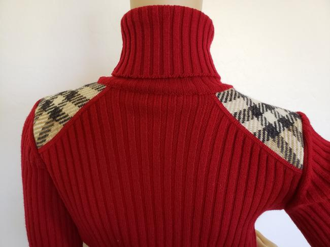Burberry Nova Check Longsleeve Plaid Patchwork House Check Sweater Image 9
