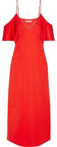 red Maxi Dress by T by Alexander Wang